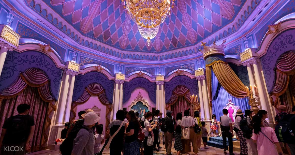 Tokyo DisneyLand or DisneySea Ticket 1 Day Pass (Direct
